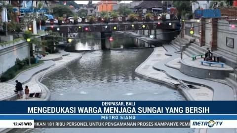 Pesona Keindahan Sungai Tukad Badung di Denpasar