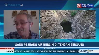 Sang Pejuang Air Bersih di Tengah Gersang
