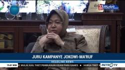 Tri Rismaharini Siap Jadi Juru Kampanye Jokowi-Ma'ruf