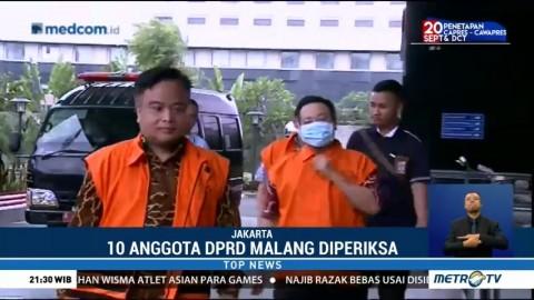 10 Anggota DPRD Malang Diperiksa KPK