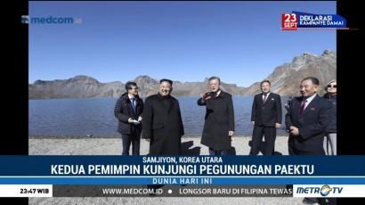 Presiden Moon Jae-in Akhiri Kunjungan di Korea Utara