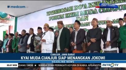 Kyai Muda Cianjur Siap Menangkan Jokowi-Ma'ruf di Pilpres 2019