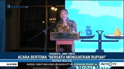 Pengusaha Jawa Timur Tukarkan USD50 Juta ke Rupiah