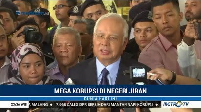 Najib Razak Bebas dengan Jaminan Rp12,5 Miliar