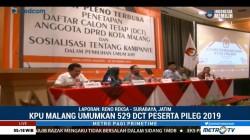 KPU Kota Malang Coret 6 Nama Bacaleg