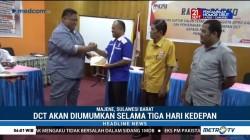 KPU Majene Tetapkan Sebanyak 282 Nama Daftar Caleg Tetap