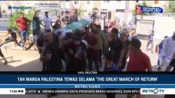 Ratusan Orang Hadiri Pemakaman Remaja Palestina yang Tertembak Israel
