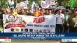 TKD Jokowi-Ma'ruf Mendaftar ke KPU Jatim