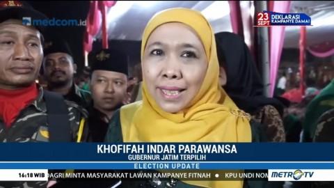 Alasan Khofifah Tolak Masuk Tim TKD Jokowi-Ma'ruf