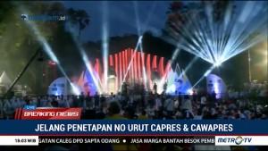Jokowi-Ma'ruf Berangkat ke KPU dari Tugu Proklamasi