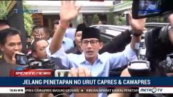 Tidak Ada Arak-arakan untuk Prabowo-Sandi Menuju KPU