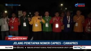 Sekjen Parpol KIK Kompak Dampingi Jokowi-Ma'ruf ke KPU