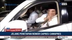 Prabowo-Sandi Berangkat ke KPU