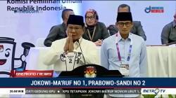 Prabowo Berharap Pilpres 2019 Berlangsung Tenang