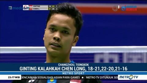Ginting dan Marcus/Kevin Melaju ke Semifinal Tiongkok Terbuka 2018