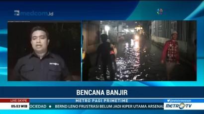 Banjir di Serdang Bedagai Berangsur Surut