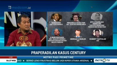 Praperadilan Kasus Century