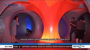 Menjelajah Terowongan Penuh Cahaya Warna-warni