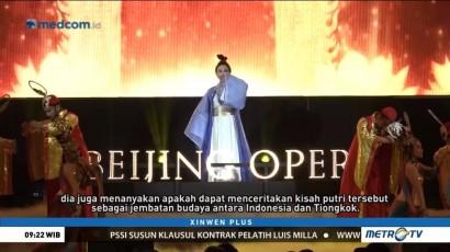 Kolaborasi Budaya Tiongkok-Indonesia Lewat Pertunjukan opera