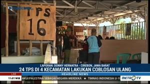 24 TPS di Cirebon Lakukan Pemungutan Suara Ulang