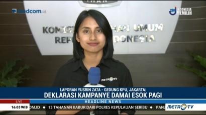 TKN Jokowi-Ma'ruf Tiba di KPU untuk Laporkan Dana Kampanye