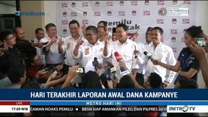 Dana Awal Kampanye Jokowi-Ma'ruf Rp11,9 M