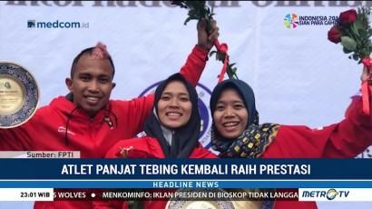 Atlet Panjat Tebing Indonesia Kembali Raih Prestasi