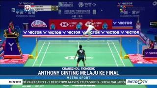 Anthony Ginting Melaju ke Final Tiongkok Terbuka