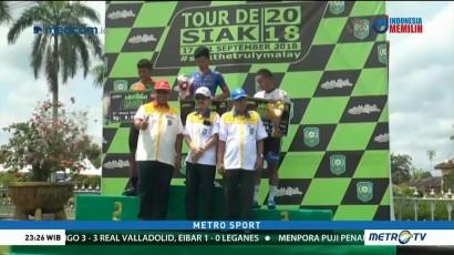 Pembalap Malaysia Jadi yang Tercepat di Etape Terakhir Tour de Siak