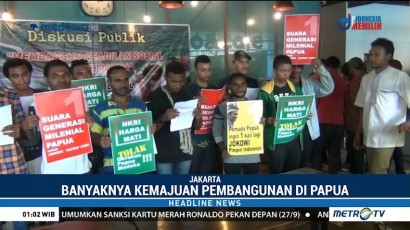 Generasi Milenial Papua Dukung Jokowi-Ma'ruf
