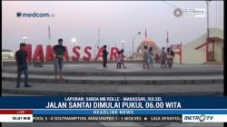 Deklarasi Pemilu Damai di Sulsel Diawali dengan Jalan Santai