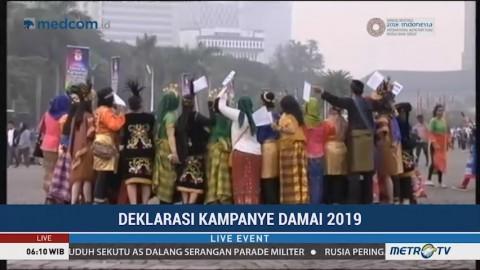 Persiapan Deklarasi Damai Pemilu 2019 di Tiga Daerah