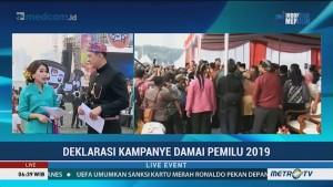 Deklarasi Kampanye Damai Pemilu 2019 (1)