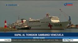 Kapal AL Tiongkok Sambangi Venezuela Beri Layanan Kesehatan