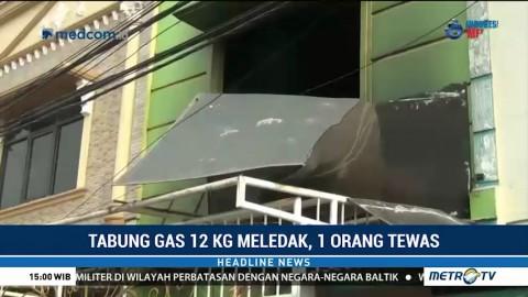 Tabung Gas Meledak di Cengkareng, Satu Orang Tewas