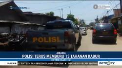 Polisi Terus Kejar 13 Tahanan Polres Kepulauan Seribu yang Kabur