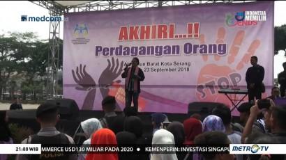Banten Masuk Zona Merah Perdagangan Manusia