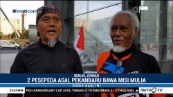 Kisah Dua Kakek Bersepeda Keliling Eropa Bawa Misi Mulia