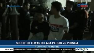Polrestabes Bandung Tangkap Sepuluh Terduga Pengeroyok Suporter di GBLA