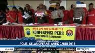 Polrestabes Semarang Tangkap 39 Pengedar Narkoba