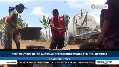 25 Desa di Kulon Progo Kekeringan