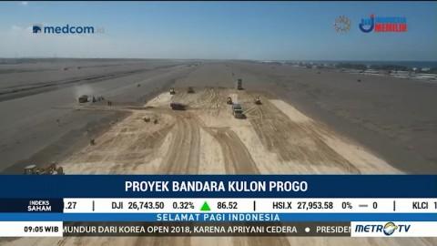 Pembangunan Bandara Kulon Progo Terus Dikebut