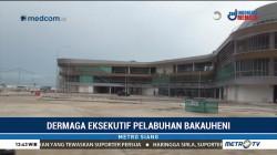 Pembangunan Dermaga Eksekutif Pelabuhan Bakauheni Capai 70%