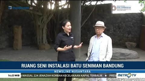 Ruang Seni Instalasi Batu Karya Seniman Bandung