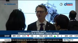Perusahaan Italia Perluas Proyek Listrik di Indonesia
