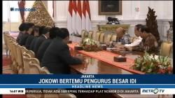 Temui Jokowi, IDI Beri Solusi Atasi Defisit BPJS Kesehatan