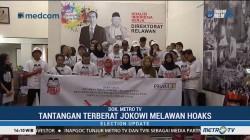 Relawan Arus Bawah Jokowi Siap Tangkal Hoaks