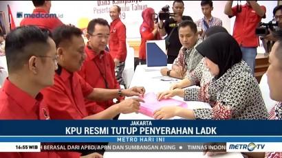 KPU Resmi Tutup Penyerahan Laporan Dana Kampanye Pemilu 2019