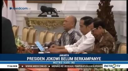 Jokowi Tetap Kerja di Masa Kampanye
