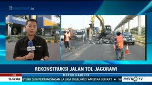 Mulai Hari Ini, Jasa Marga Lakukan Rekonstruksi Tol Jagorawi